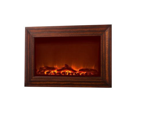 Fire Sense Wood Wall Mounted Electric Fireplace image B0053GC0N6.jpg