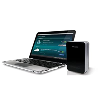 HGST Touro Desk Pro HTOLDNB10001BBB 1TB USB 3.0 External Hard Drive (Piano black)