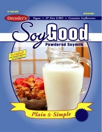 SoyGood - Plain and Simple - Makes 10 Qts - Powdered Soymilk