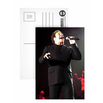 Tom Jones - Postcard (Pack of 8) - 6x4 inch - Art247 Highest Quality - Standard Size - Pack Of 8