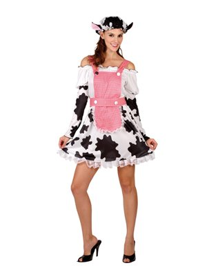 Boland 87184 - Kostüm Milkmaid, Einheitsgröße 36-42