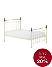 Castello Cream Bedstead
