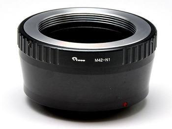Pixco 絞りピン押しタイプ M42 マウント レンズ → ニコン 1 nikon 1 マウント ボディ アダプター N1 J1 J2 J3 S1 V1 V2 など 並行輸入品