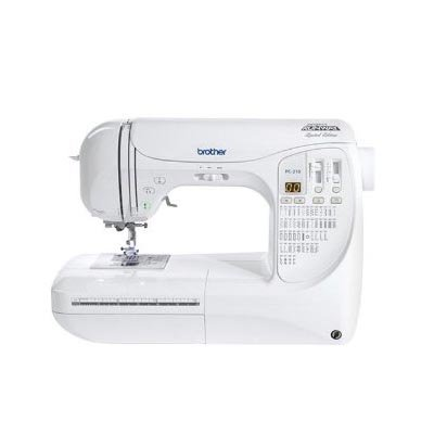 Brother Computerized Sewing Machine Pc210Prw