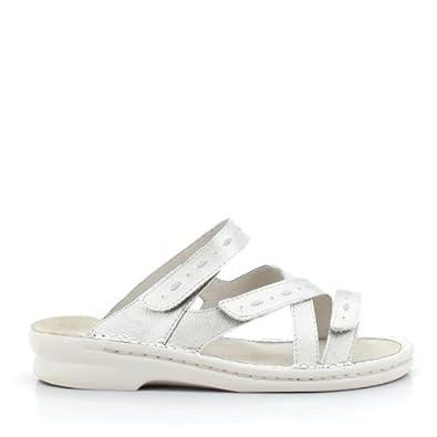 Propet Women's Maribel Sandal,White,6 B US