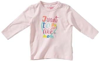 NAME IT Baby - Mädchen Hemd 13087072 KISS CU NB LS TOP, Gr. 56, Rosa (BALLERINA)