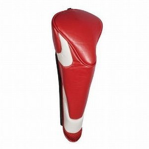 Edwin Watts Magnetic Headcover- Fairway- Red/ White