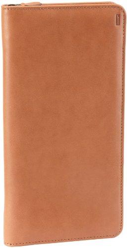 Hartmann Luggage Belting Leather Zip Travel Organizer,Natural,One Size