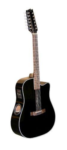 boulder creek ecr1 b12 acoustic electric solitaire 12 string guitar discount guitars for sale. Black Bedroom Furniture Sets. Home Design Ideas