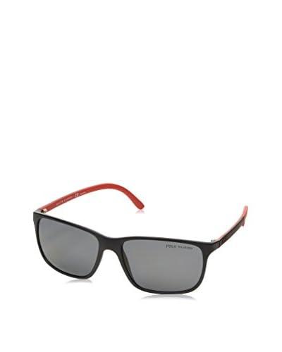 POLO RALPH LAUREN Gafas de Sol Casual Logo (58 mm) Negro