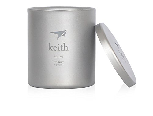Double-Wall Mug Titanium Cup Camping Cup Only