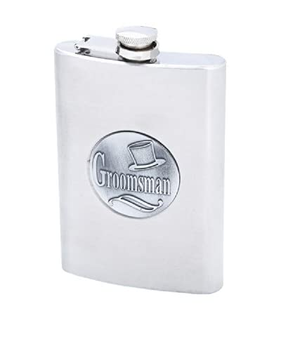 Toast to the Happy Couple Groomsman Flask
