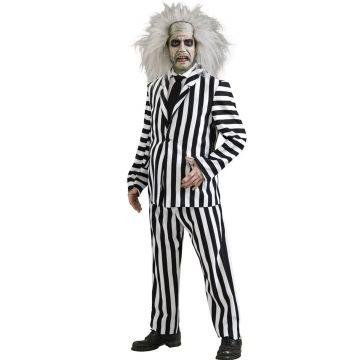Deluxe Beetlejuice Costume - Standard - Chest Size 40-44