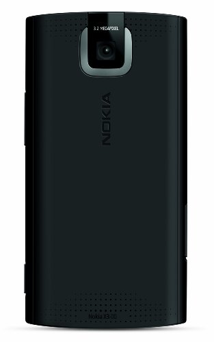 Nokia X3 Slider Unlocked GSM Phone with 3.5 MP Camera and 2 GB SD Slot–US Version with US Warranty (Red/ Black)