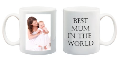 Christmas gift best Mum in the World mug custom