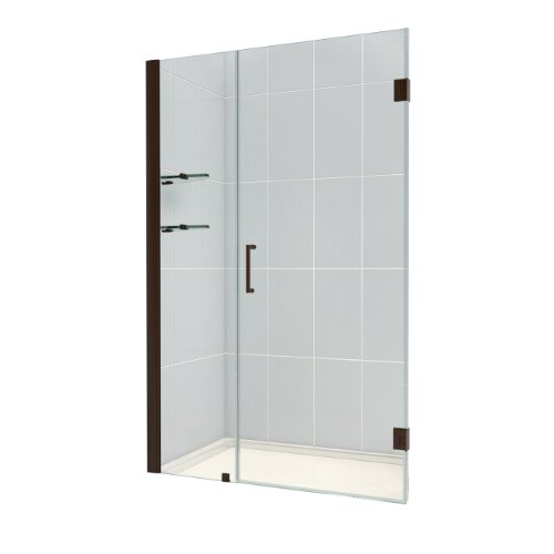 Dreamline Shdr 20447210s 06 Unidoor Frameless Hinged Shower Door 44