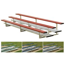 3 Row 15 Tip N Roll Bleachers Colored from BSN Sports