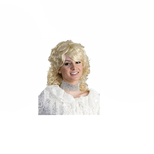[Popcandy Dolly Parton Wig Country Singer Wig 1980s Wig Costume Wig Closeout Pricing 01] (80s Singers Costumes)
