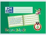 Comprar Oxford Schreibheft - Bloc de notas A5 de lineatura 0, verde