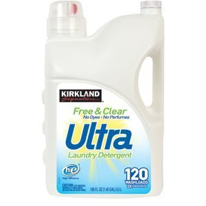 Kirkland Signature Free and Clear 2X Concentrate Ultra Clean Premium Laundry