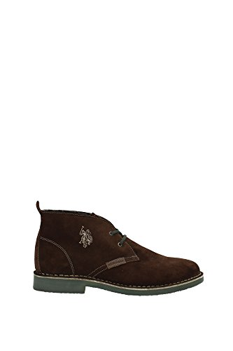 U.S. Polo Assn. MUST3119S4/S6 Polacchino Uomo Crosta Marrone Marrone 42
