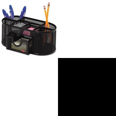 KITHON1877CROL1746466 - Value Kit - The HON Company HON 1870 Series 6-Shelf Bookcase | 36quot;W, Harvest (HON1877C) and Rolodex Mesh Pencil Cup Organizer (ROL1746466)