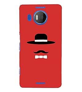 EPICCASE Fashion case Mobile Back Case Cover For Microsoft Lumia 950 XL (Designer Case)