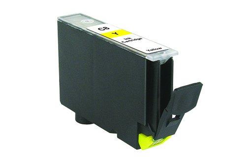 Inkadoo® Tinte passend für Canon Pixma IP 6700 D ersetzt Canon C8 , C8Y , CLI-8Y / PI100-68 , PI1006800313242 , 0623B001 , 313242 - Premium Drucker-Patrone Kompatibel - Gelb - 960 Seiten - 14 ml