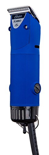 Oster Blue Velvet Turbo A5 2-Speed Animal Dog Hair Pro Professional Clipper (Oster 11 2 Blade compare prices)
