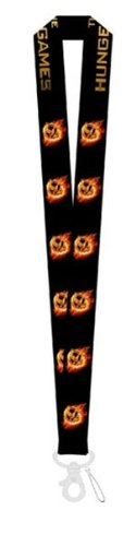 The Hunger Games Movie Lanyard Keychain Mp3 Holder