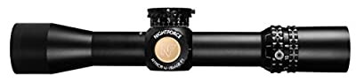NightForce ATACR 4-16x42mm F1 ZeroHold .1 Mil-Radian DigIllum PTL Mil-R, Black, 34mm from Nightforce Riflescopes