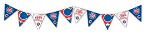 Eureka Chicago Cubs Officially Licensed MLB Pennant Banner by Eureka
