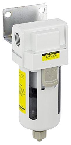 PneumaticPlus SAF4000M-N04B Compressed Air Particulate Filter, 1/2