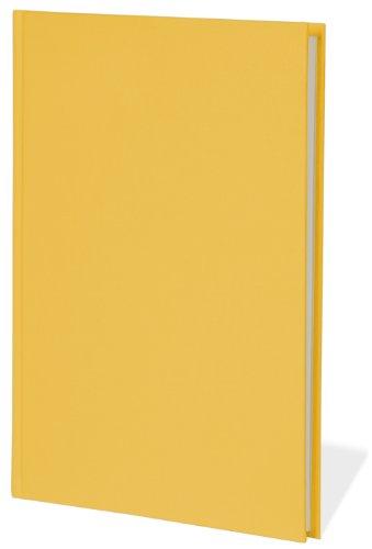 semikolon-classic-letter-a4-size-bound-linen-blank-book-sun-yellow-10201