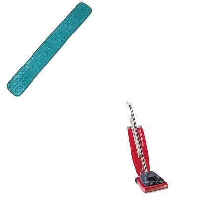 Kiteuksc684Frcpq436Gre - Value Kit - Rubbermaid Microfiber Dry Hall Dusting Pad (Rcpq436Gre) And Commercial Vacuum Cleaner, 16Quot; (Euksc684F)