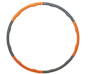 PhysioWorld Intermediate Foam Padded Weighted 1.5kg (3.30lb) Fitness Exercise Hula Hoop 100cm wide