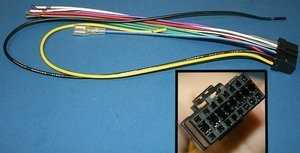 WIRE HARNESS FOR PIONEER DEH models CDE7060 (Deh 2700 compare prices)
