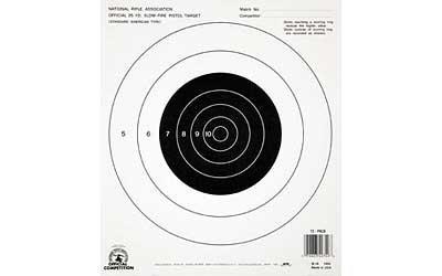 Champion B-16 25-yardd Pistol Slow Fire NRA Paper