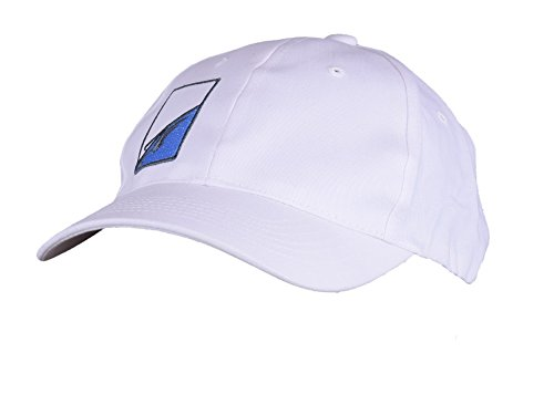 ARNETTE Cappello con frontino unisex bianco 022922 cotone