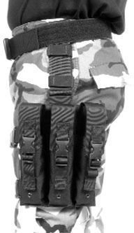 Blackhawk! Omega Elite Smg Mag Pouch - 9Mm, 40 Cal, Ump 45