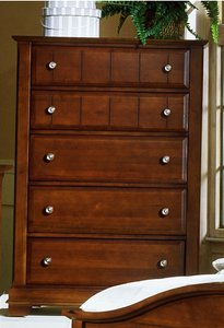 Vaughan Bassett The Cottage Collection Cherry Chest-5 drawers - BB19-115