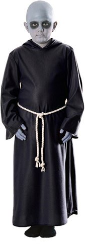 Child's Uncle Fester Addams Family Costume (Size:Small 4-6)