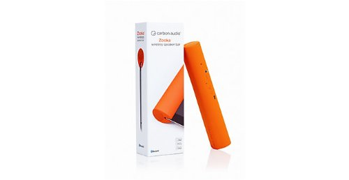 Carbon Audio Zooka Wireless Speaker For Ipad/Iphone/Ipod - Orange (Zww-2Or)
