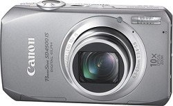 Canon PowerShot SD4500IS 10 MP Digital Camera with 10x Optical Image Stabilized Zoom and 3.0-Inch LCD, Silver