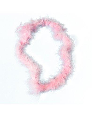36 Light Pink Hawaiian Fluffy Boa Lei Necklace Rave 80s Costume Accessory hawaiian tropic island sport lotion spf 30 8 ounce