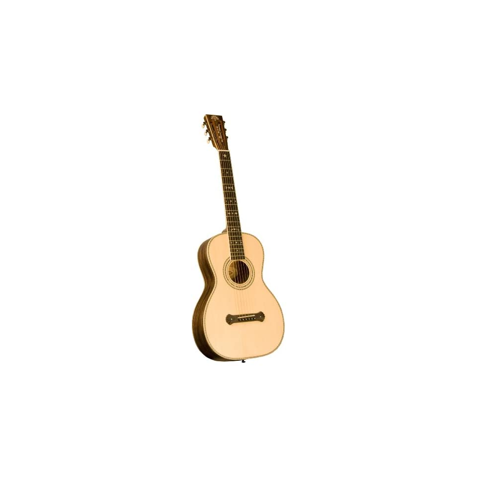 New Pro Washburn Vintage Parlor Style Acoustic Guitar On Popscreen