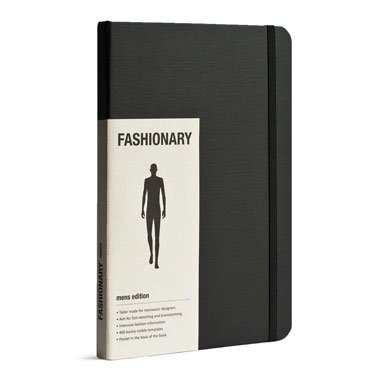 A5 Fashionary Sketchbook - Mens Edition