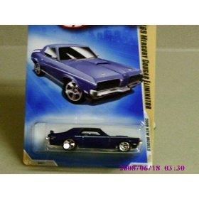 Hot Wheels 2009 New Models Blue '69 Mercury Cougar Eliminator w/ 5SPs #008 1:64 Scale - 1