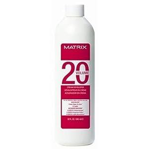 Amazon  Matrix Socolor Cream Developer20 Volume 32 Fl Oz  Hair Colo