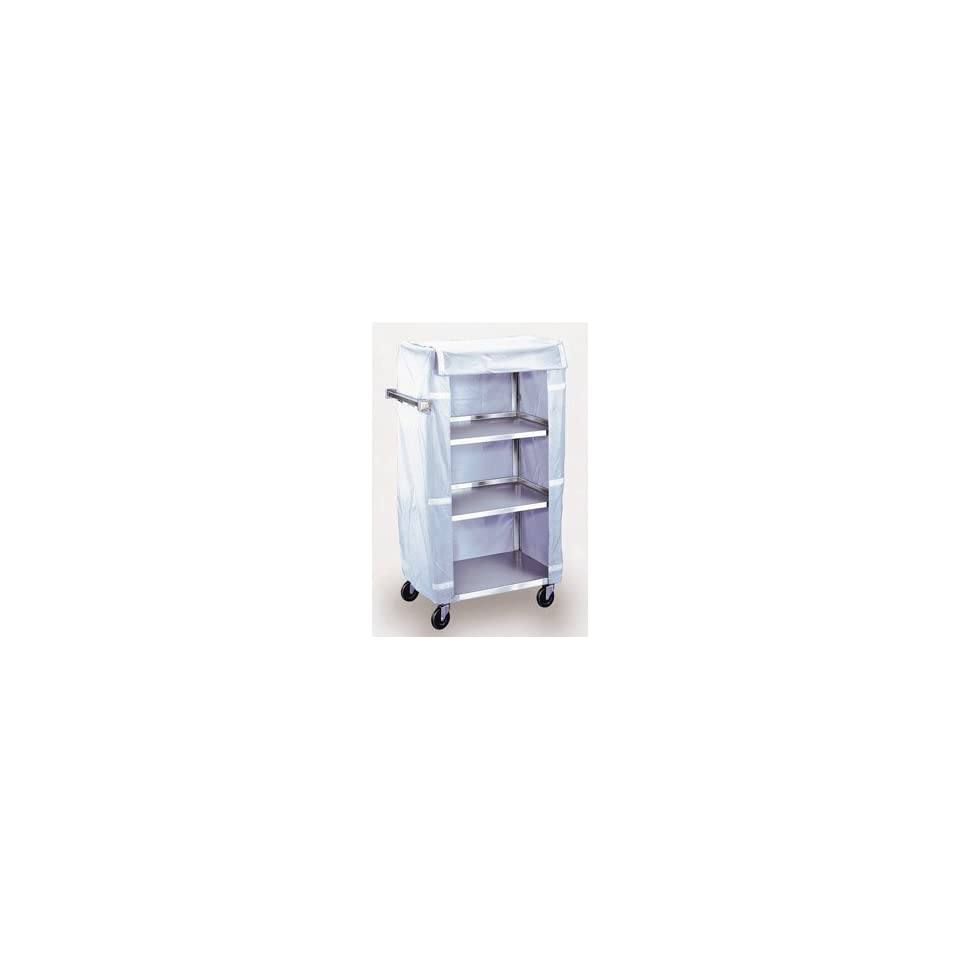 Stainless Steel Linen Cart   3 Shelf Cart, without Cover   1 Each / Each
